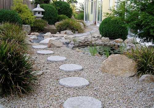Decoraci n de jardines - Suelos para jardines exteriores ...