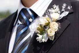 prendido flor masculino