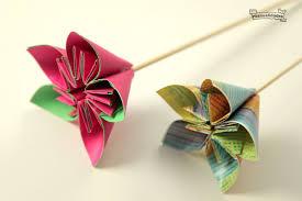 flor papel