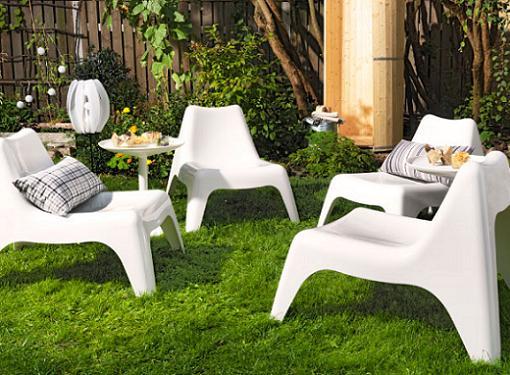 Puesta a punto de balcones terrazas y jardines soler y for Sillones jardin ikea